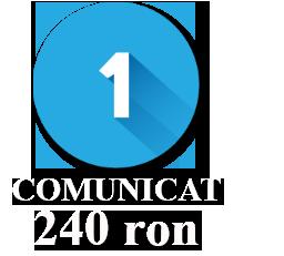 1 Comunicat