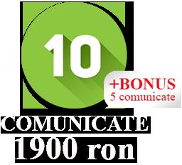 10 Comunicate + 5 Comunicate BONUS
