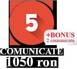 5 Comunicate + 2 Comunicate BONUS