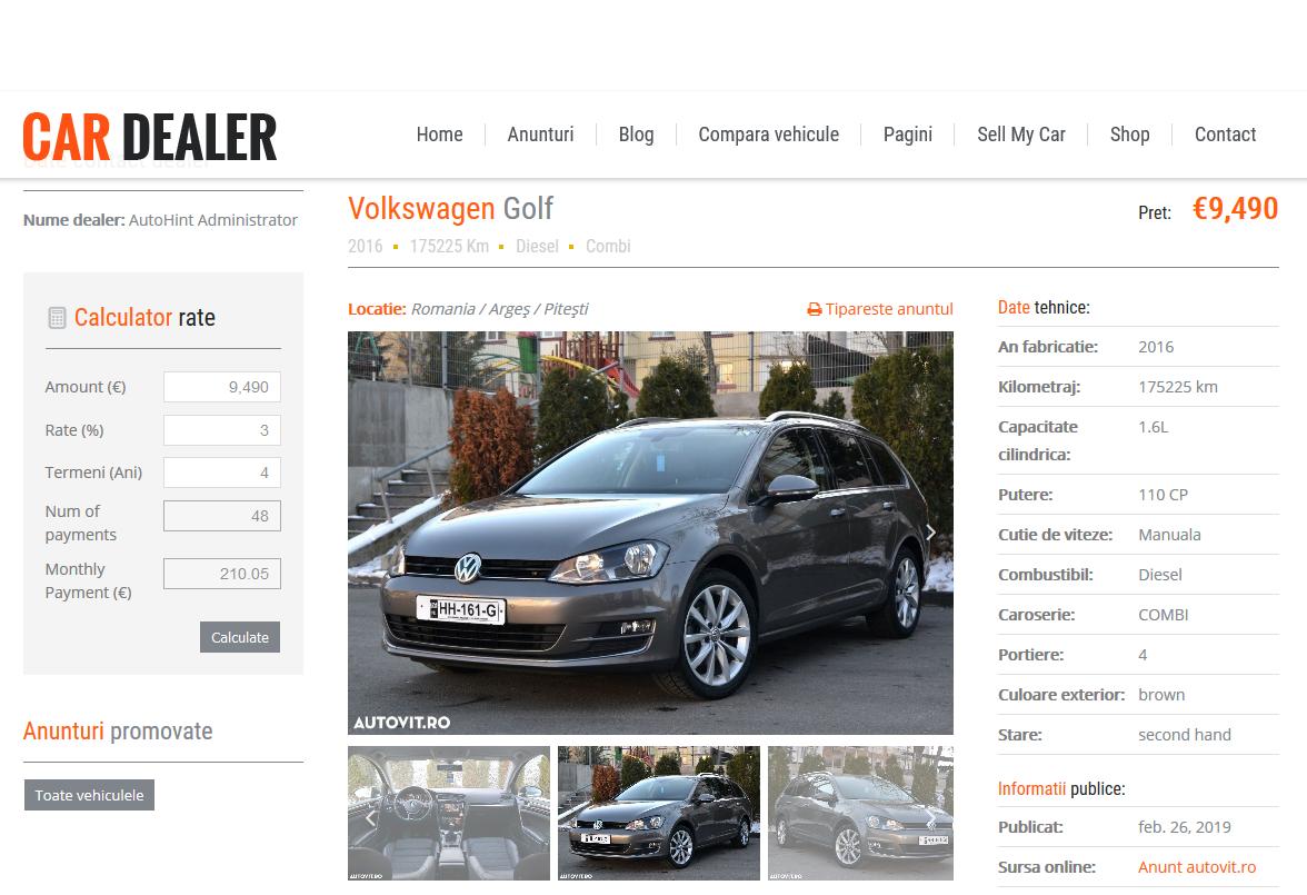 Web scraping Preluare anunturi automat de pe alte site-uri