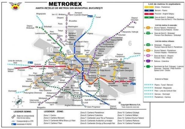 Planurile Metrorex Pană După 2030 Sunt Uimitoare Iată Pană Unde S