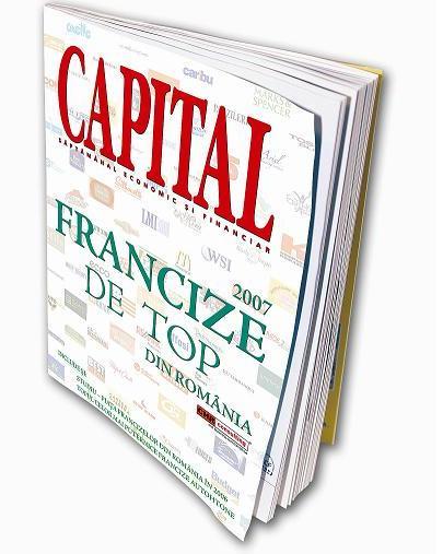 """Capital lansează, în premieră în România, suplimentul """"Francize de top 2007"""""""