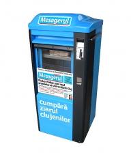 Atac la firmele de distribuţie: primele automate de presă din România