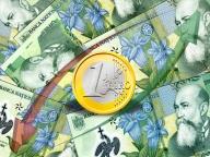 Unicredit: cursul va fi de 4,3 lei/euro la sfârşitul anului