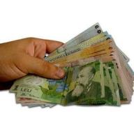 UPDATE4: Euro a scăzut până la 4,2648 lei