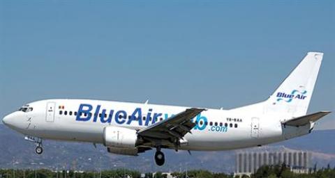 Românii nu circulă cu avionul prin ţară: Blue Air a suspendat toate cursele interne, din lipsă de pasageri