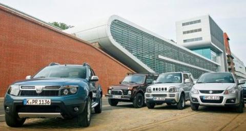 Meci între Dacia Duster şi japonezi. Arbitru: rigoarea germană