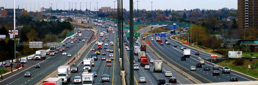Cea mai aglomerată autostradă din America de Nord