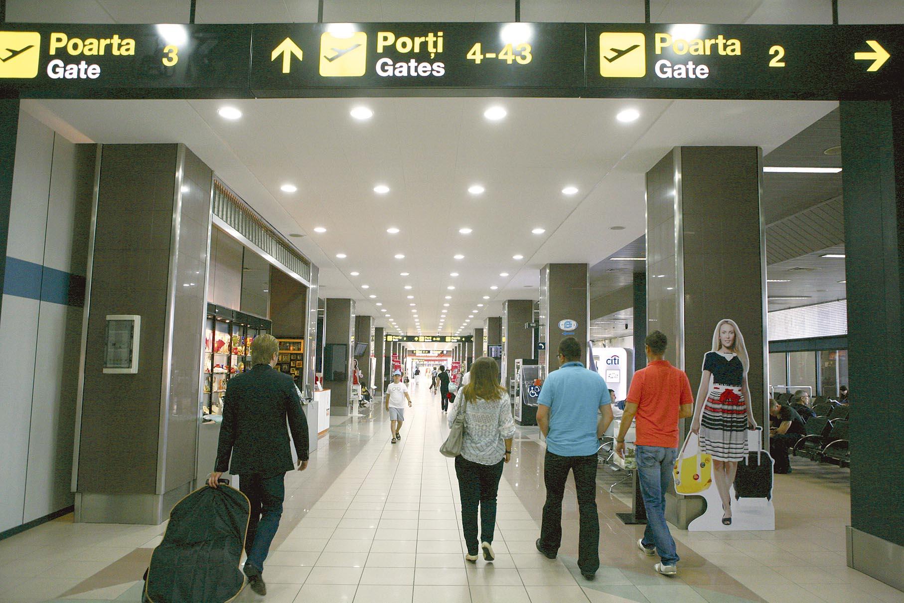 Trendul european aterizează şi pe aeroporturile româneşti