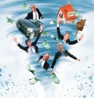 Criza a spulberat 3 mld. din averile bogaţilor