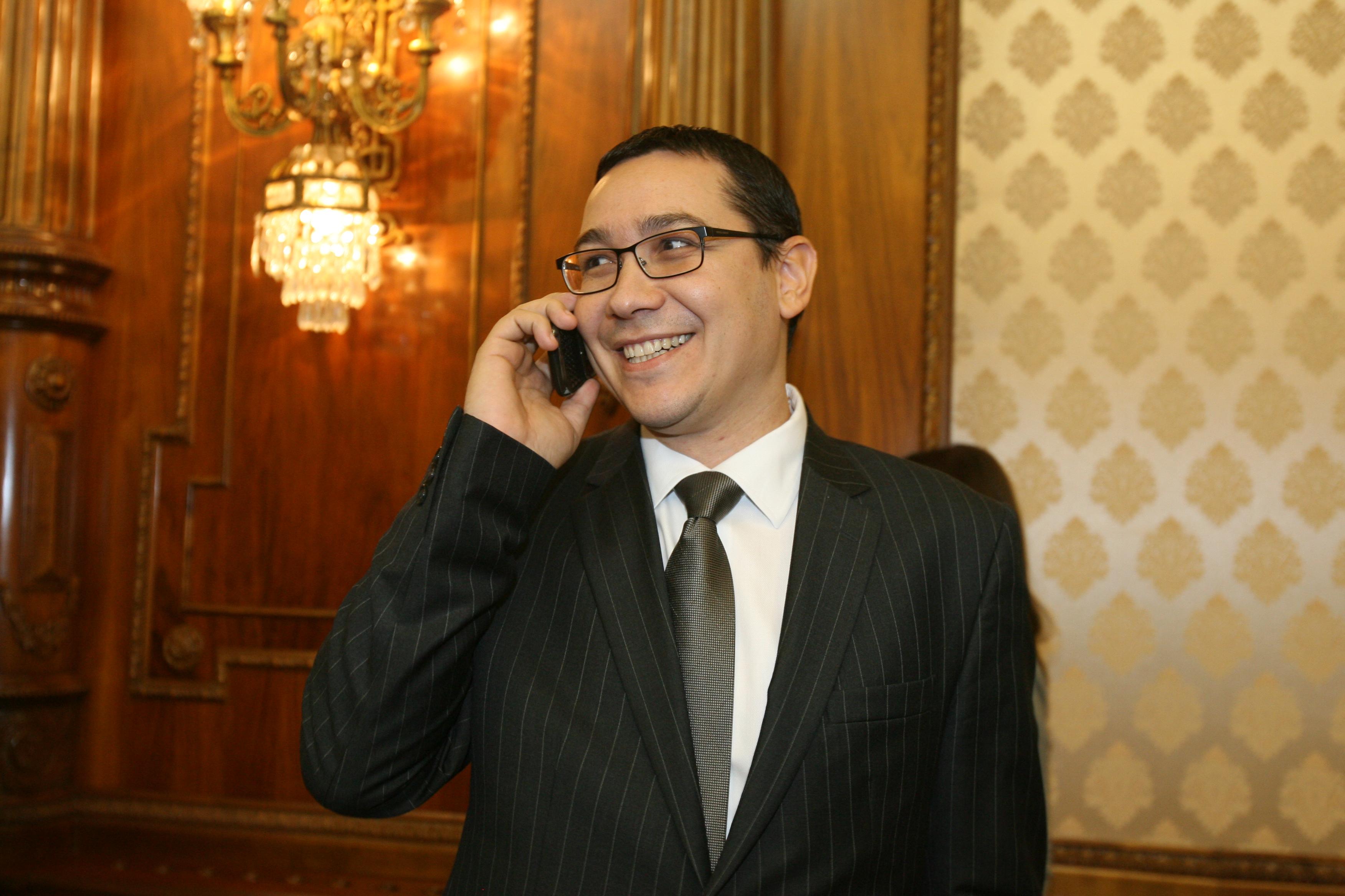 Victor Ponta este noul premier al României
