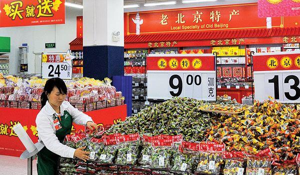 China a devenit cea mai mare piaţă alimentară din lume, depăşind SUA