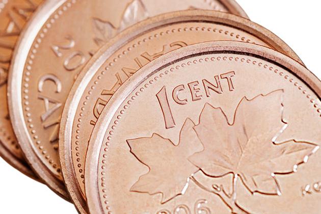 Canada scoate din circulaţie moneda de un penny