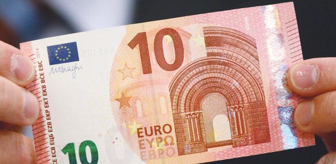 Noua serie a bancnotelor de 10 euro va intra în circulaţie din 23 septembrie