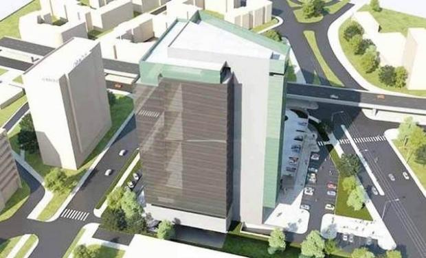 Papalekas începe construcţia turnului de birouri de lângă pasajul Pipera