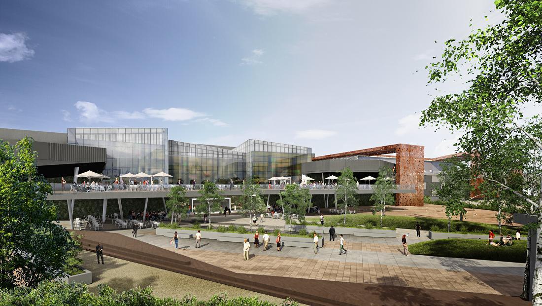 A început construcţia unui nou mall în Bucureşti