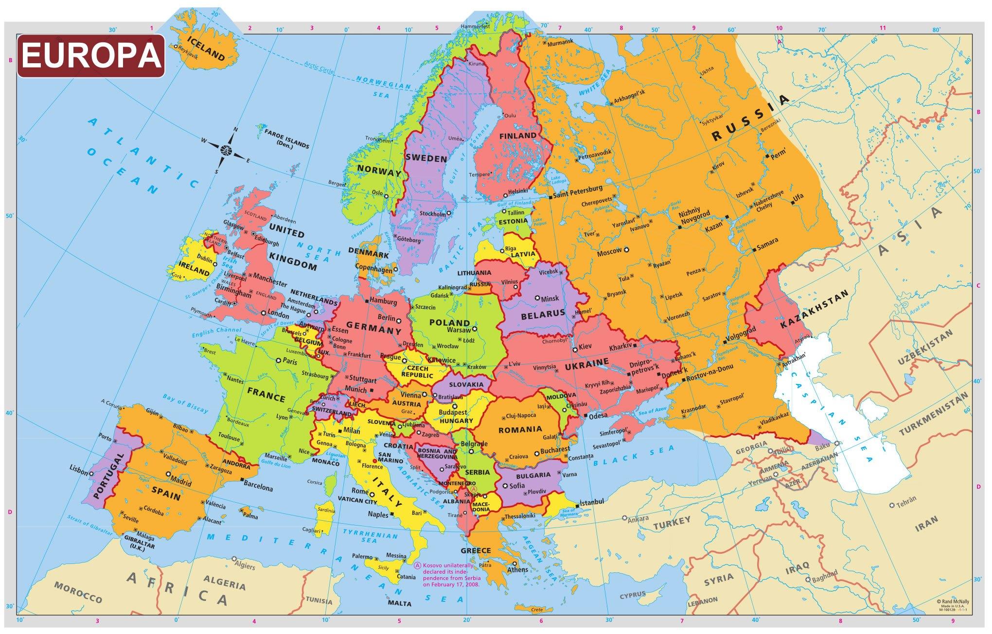 Se Schimbă Harta Europei O ţară Unde Sunt Si Sute De Mii De