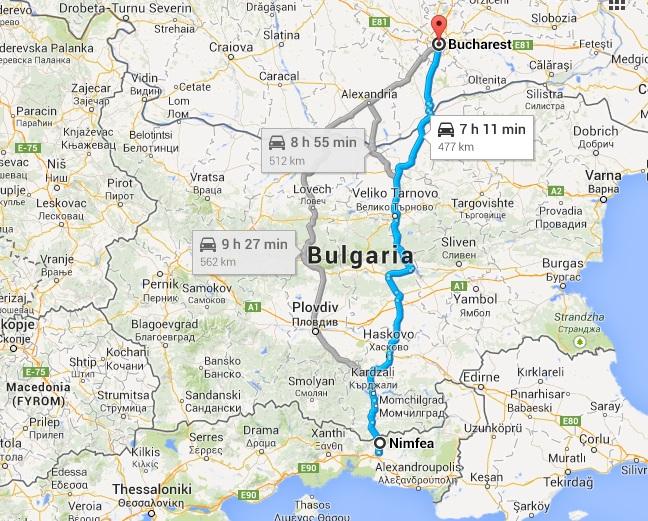 Cum Să Ajungi In Grecia Cu Mașina Din București In Mai Puțin De 8