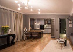 Cum a fost transformat un apartament bucureștean de 75 mp în doar șase luni. Imagini care te lasă fără cuvinte