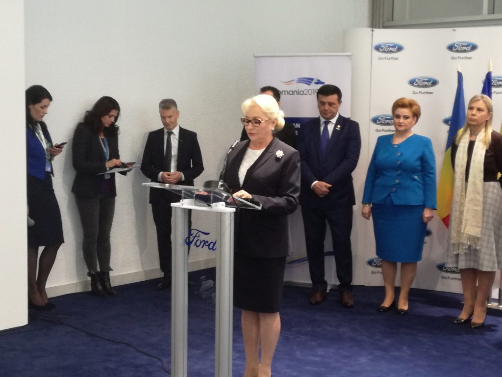 Viorica Dăncilă băgată în corzi de șefii Ford! Solicitări urgente ale producătorului american!