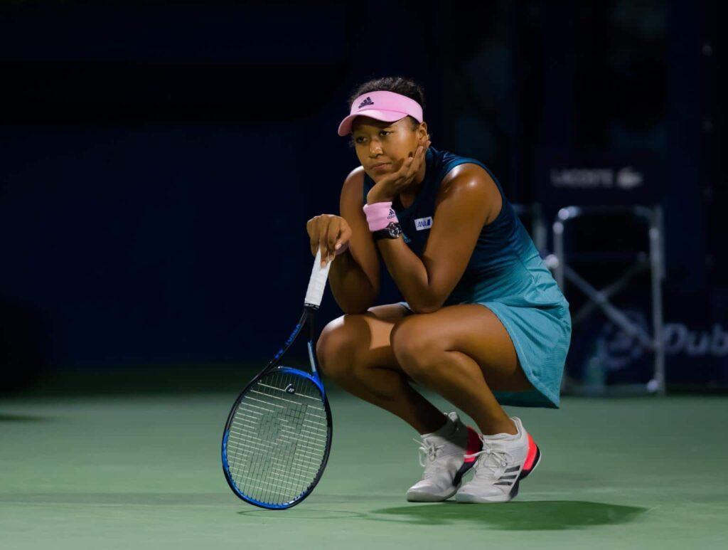 Probleme pentru, liderul WTA, Naomi Osaka. A fost dată în judecată
