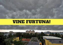Alertă meteo ANM! Avertizare meteo Cod Galben de furtuni violente de Rusalii