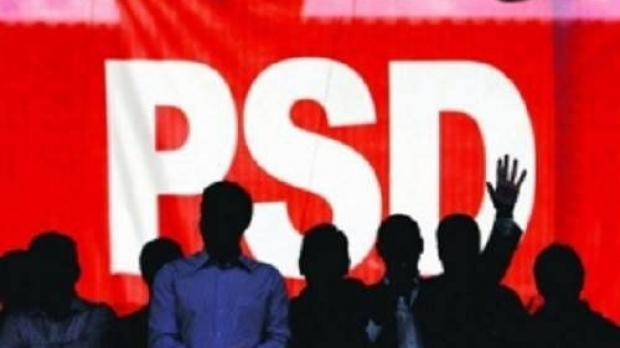 """Scandal imens în fața sediului PSD! Declarații halucinante ale unui deputat: """"Bucurați-vă"""""""