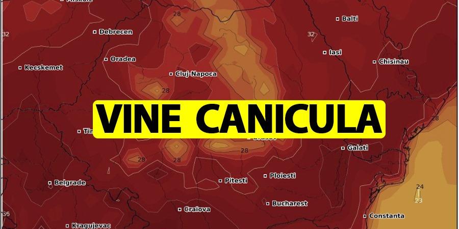 Prognoza meteo ANM! Canciula lovește România în weekend! Zonele din țară transformate în cuptor