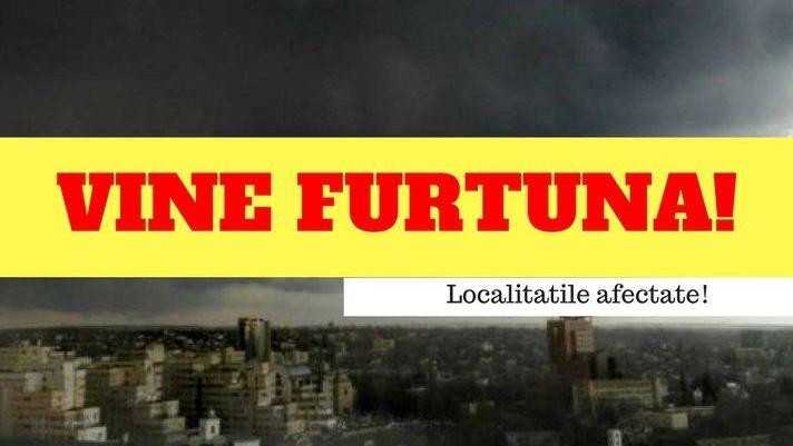 Avertizare meteo ANM! România, lovită de furtuni periculoase! Vremea o ia razna din nou