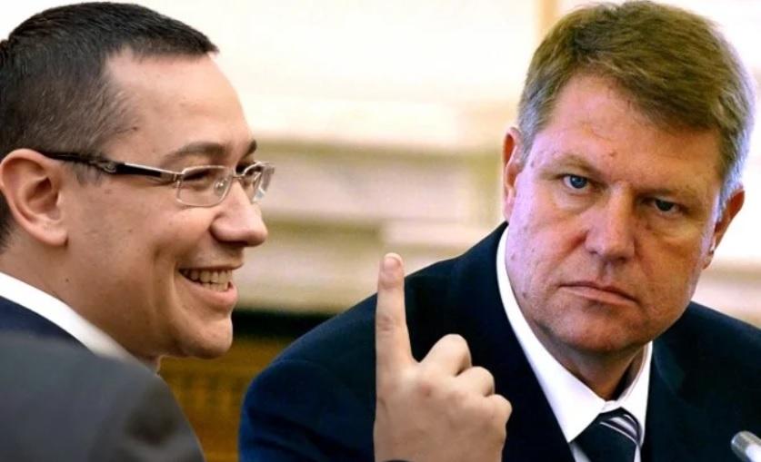 """A korrupt Victor Ponta egy """"elfogadható politikus"""" – véli Iohannis"""