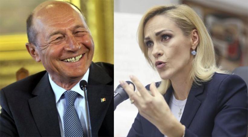 Traian Băsescu o distruge pe Firea: Impostoarea profund coruptă a reuşit să întreacă orice măsură a penibilului