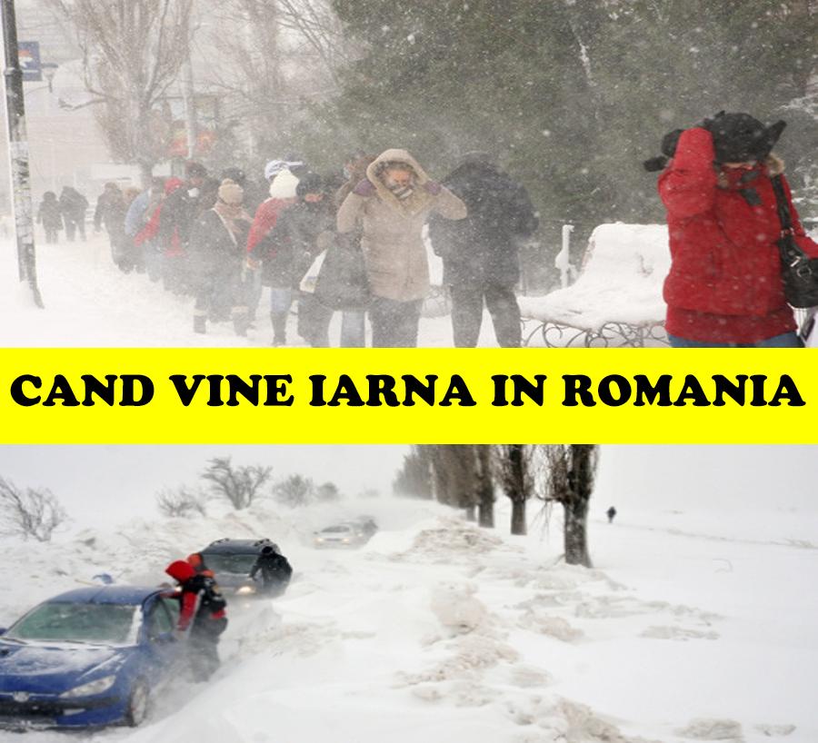 Mai vine iarna în România?! Meteorologii fac anunţul zilei despre vreme. Prognoza meteo ANM