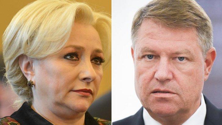 Vita helyett az újságírók előtt esett egymásnak Iohannis és Dăncilă