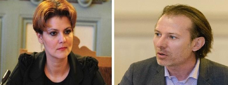 Război total între Lia Olguța Vasilescu și Florin Cîțu: Iresponsabili și proști!