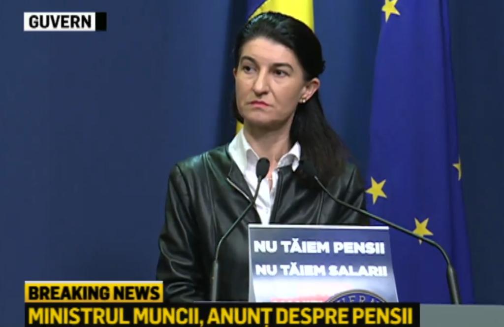 SE SCHIMBĂ Legea Pensiilor! Anunțul serii făcut de Violeta Alexandru în direct la TV