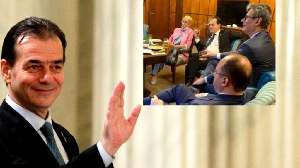 Ludovic Orban, noi lămuriri privind fotografia controversată! Premierul a recunoscut totul