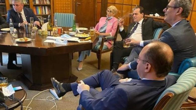 Cine a făcut, de fapt, poza cu Ludovic Orban? Mihai Gâdea aruncă bomba