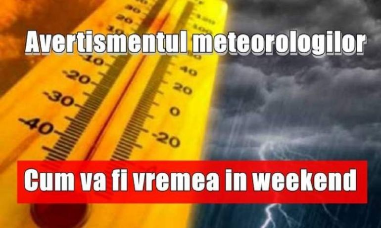 Vine ciclonul în România! Meteorologii au venit cu vești șoc. Urmează ceva de neimaginat