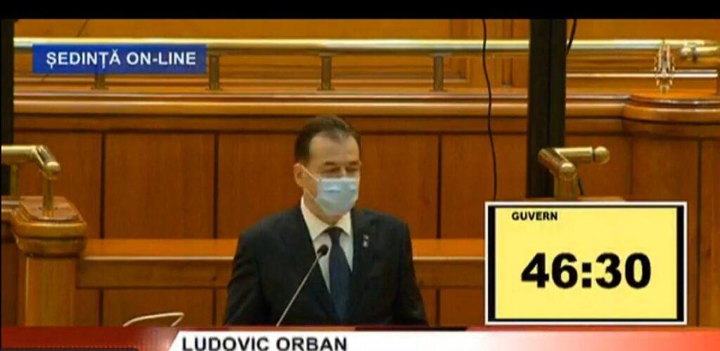 Ludovic Orban a ajuns în Parlament! Anunțul momentului în România! Decizia premierului VIDEO