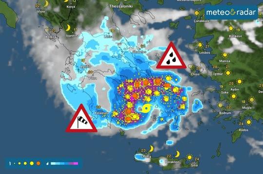 Uraganul face primele victime în Europa! Vremea rea a ucis mai multe persoane! Oraș transformat în lac