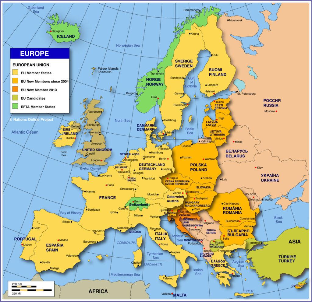 Se schimbă harta Europei?! O mare putere ar putea să piardă un teritoriu