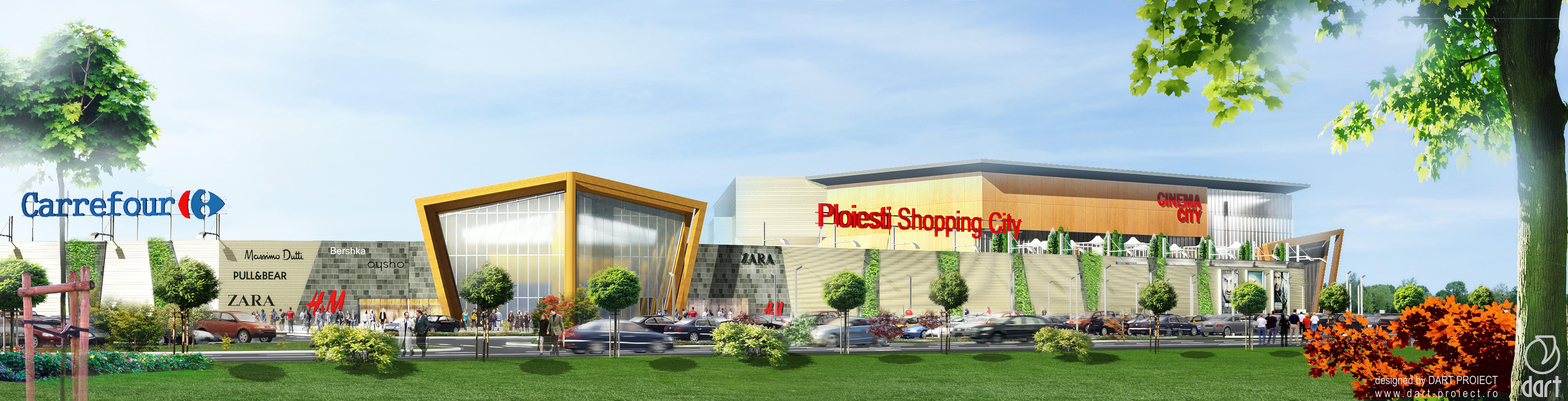 Se deschide un nou mall, langă Carrefour Ploiești