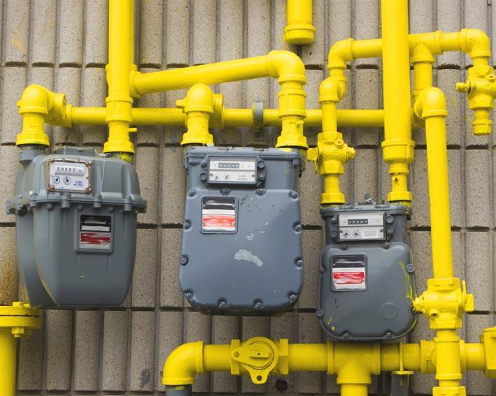 Importurile de gaze au scăzut