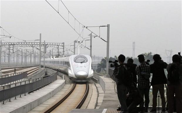Cea mai lungă linie de tren de mare viteză din lume