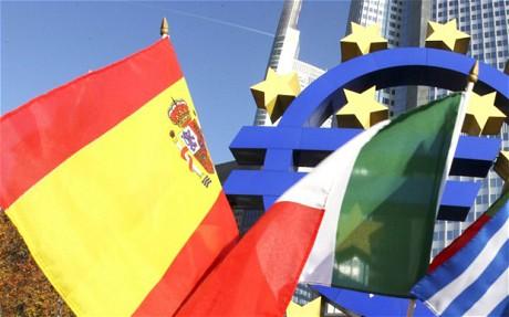 Bloomberg: Dacă Spania cade, problemele Greciei vor părea o joacă de copii