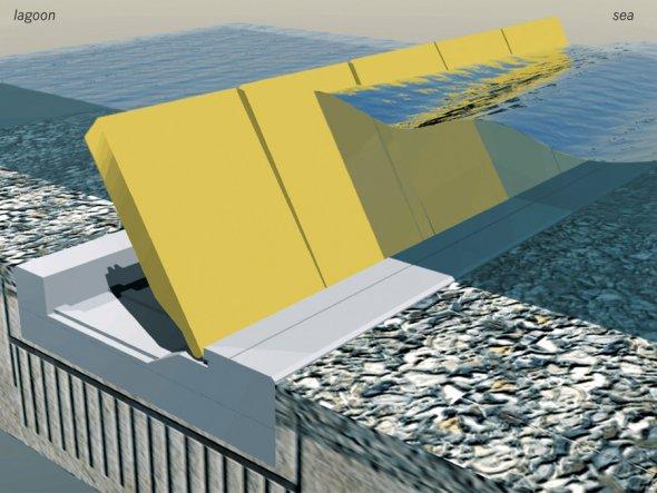 Un proiect de 5 miliarde de euro ar putea fi singura şansă de a împiedica scufundarea Veneţiei