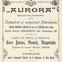 """Societatea anonimă """"Aurora"""""""