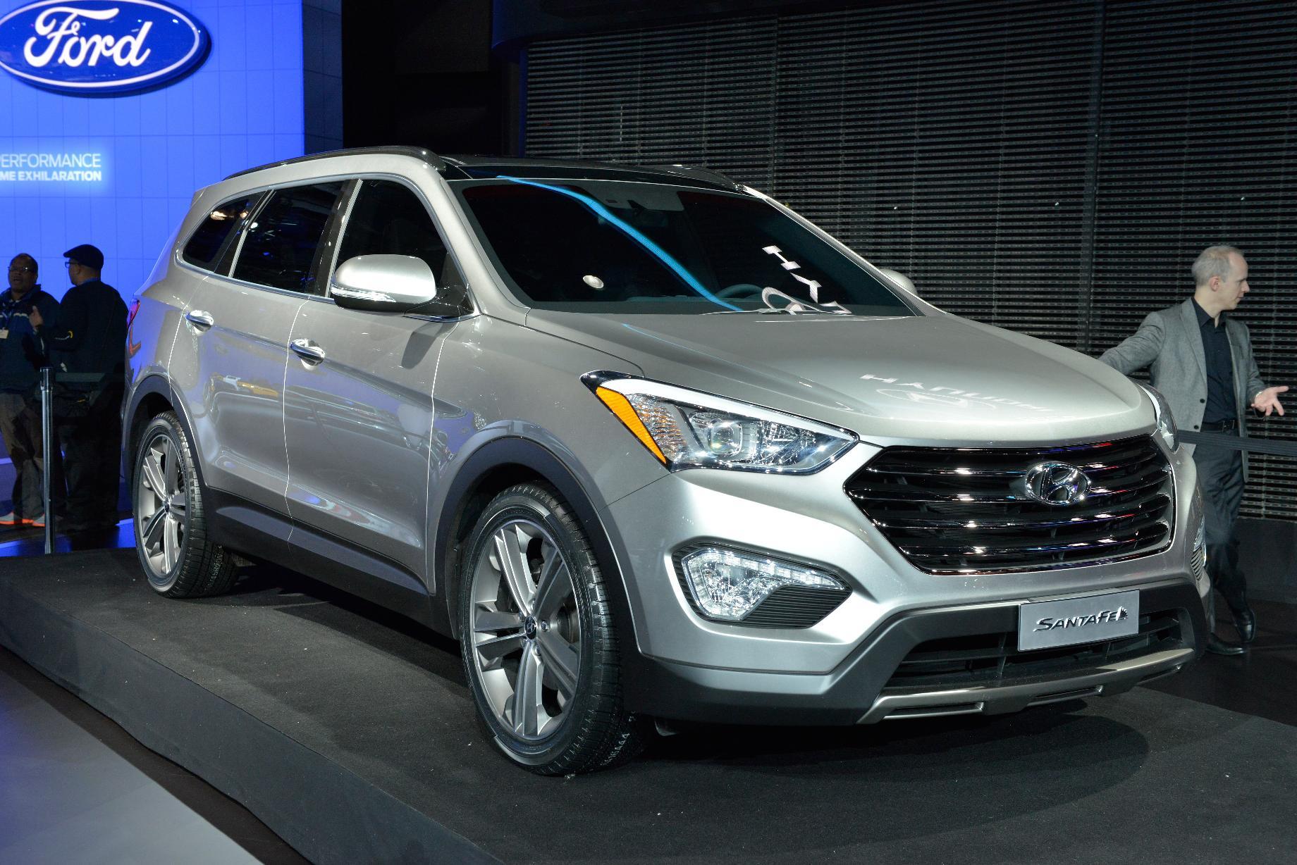 Hyundai a prezentat noul SantaFe la New York