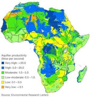 """În subteranul Africii există resurse """"enorme"""" de apă"""