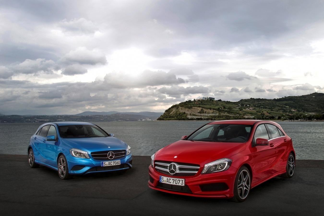 Mercedes a vândut un număr record de vehicule în 2013